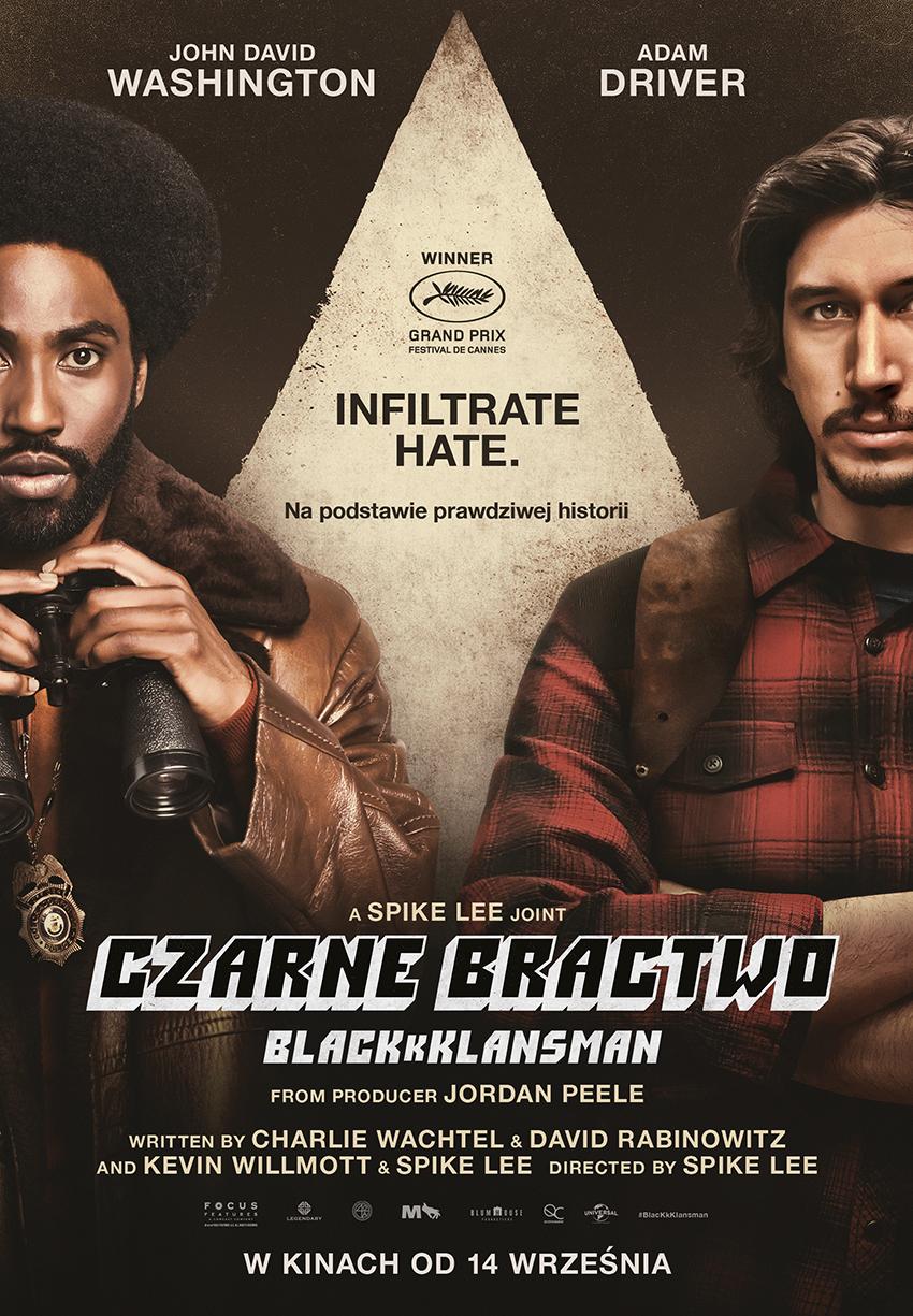 Klub Filmowy: Czarne Bractwo. BlacKkKlansman