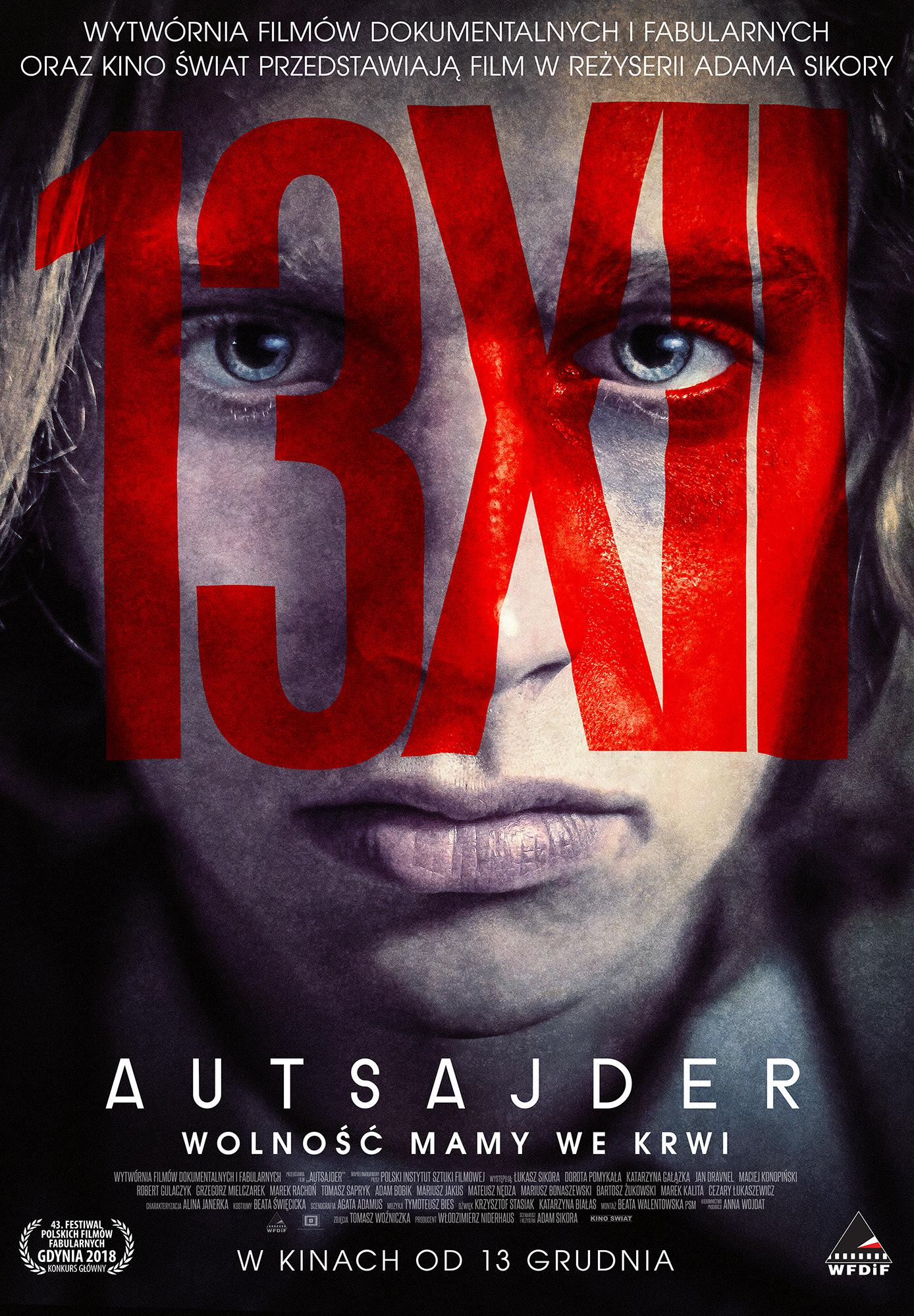 Klub Filmowy Janosika: Autsajder + spotkanie z reżyserem Adamem Sikorą