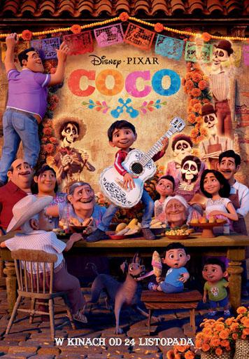 Ferie po zbóju: Coco [2D dubbing]