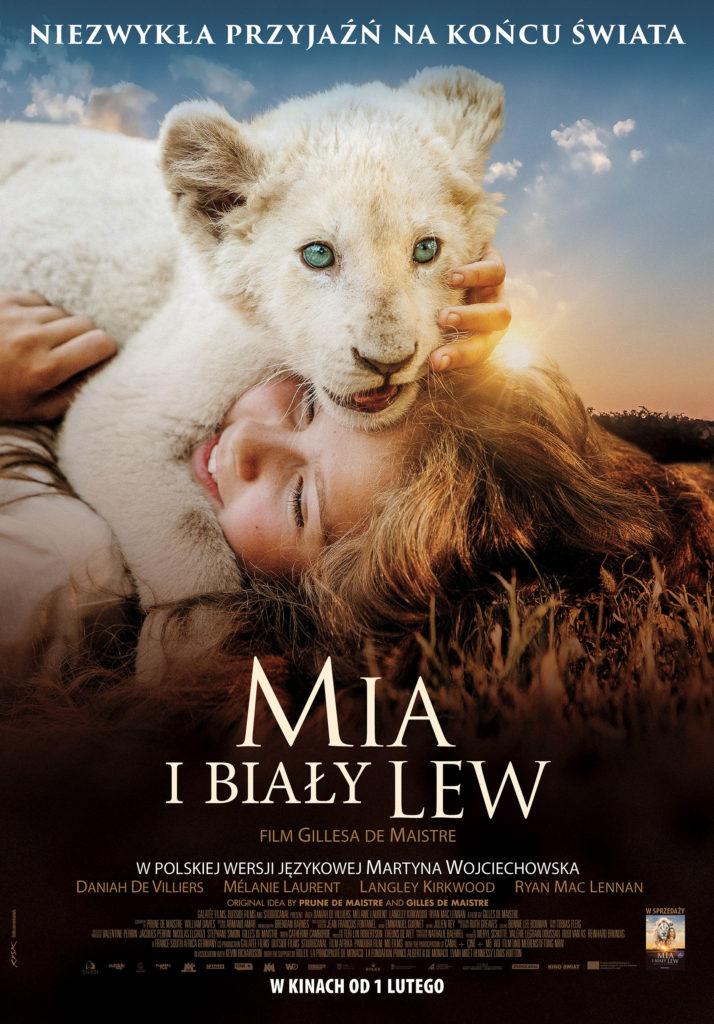 Ferie po zbóju: Mia i biały lew