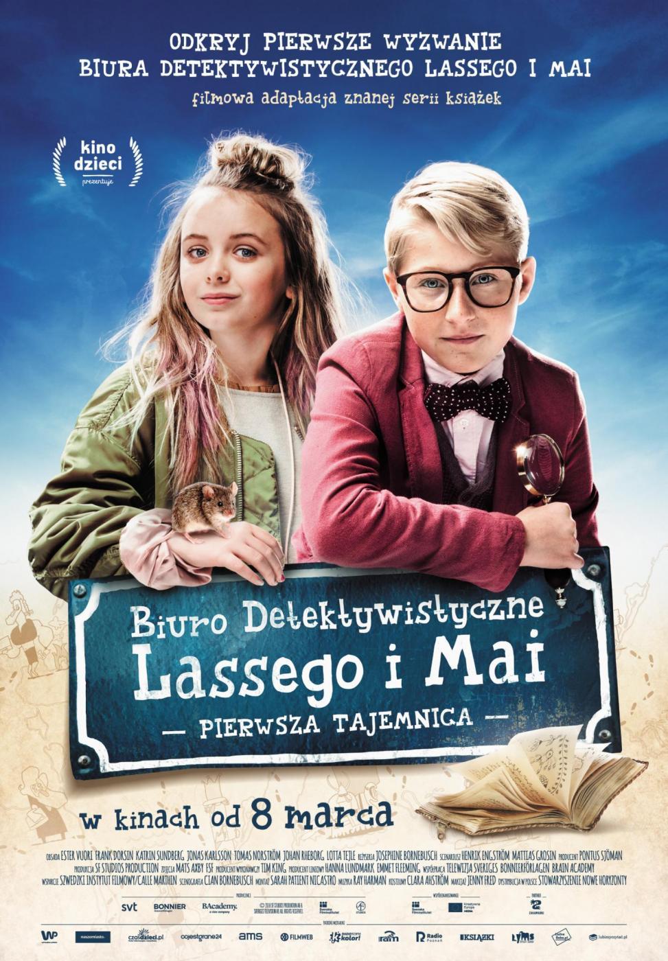 Janosik Dzieciom: Biuro Detektywistyczne Lassego i Mai. Pierwsza tajemnica