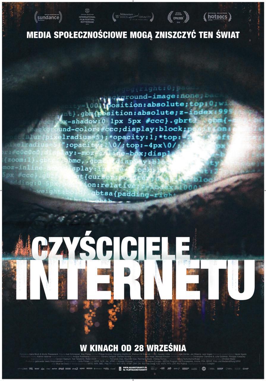 Niedziela z Dokumentem: Czyściciele Internetu
