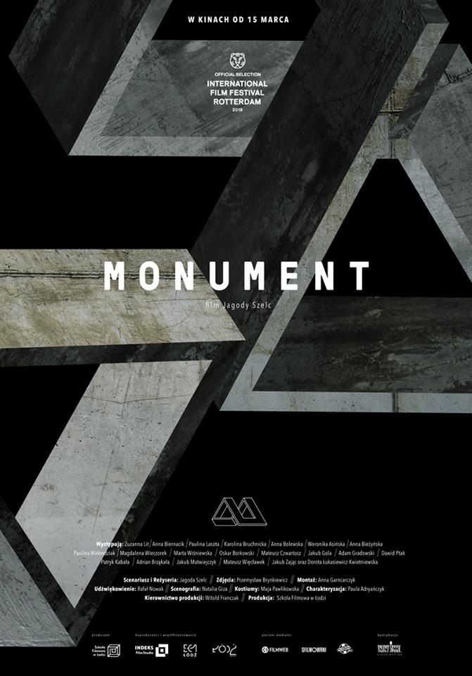Klub Filmowy Janosika: Monument + spotkanie z JAGODĄ SZELC
