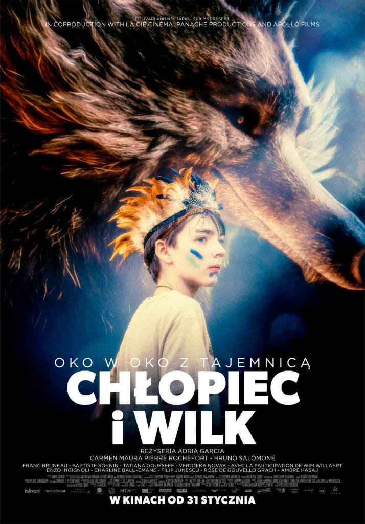 Janosik Dzieciom: Chłopiec  i wilk